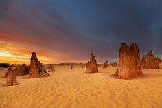 Le désert de Pinnacles, Australie occidentale