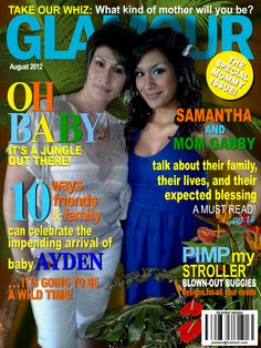 Magazine cover templates your baby printable diy for Magazine cover template publisher