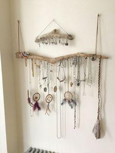 Driftwood Jewelry Organizer - Made to Order Jewelry Hangers - Pick the Driftwood - Boho Decor Storage Jewelry Holder Hanging Jewelry Display - Driftwood Jewelry Organizer Wall Hanging Necklace Holder Bracelet Hanger Earring Display Tree – - Diy Jewelry Holder, Jewelry Hanger, Earring Holders, Bracelet Holders, Jewelry Stand, Diy Necklace Holder, Bracelet Organizer, Diy Bracelet, Earring Hanger