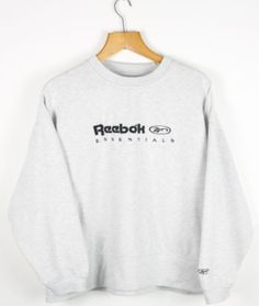 8bc314ef94c FOR SALE  Vintage Women s REEBOK Grey Sweatshirt Jumper