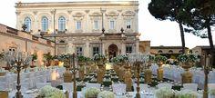 Image result for italian villa wedding reception
