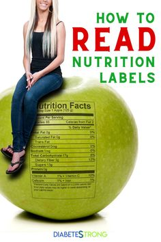 5 Steps to read nutrition labels properly - Learn how to read a nutrition label to really understand what's in the product you're buying, as well as the nutritional breakdown. #nutritionlabels #nutrition #healthtips #diabetesstrong #mealplanning #dieting