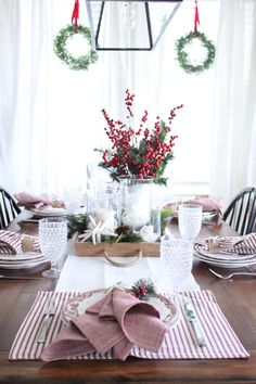 Thanksgiving has officially come and gone- now it's time for the Christmas season! We are kicking things off this week with an amazing Holiday Tablescape Blog Hop! I can't wait to see all the gorgeous tables and decor (the full list of participating bloggers is at the end of this post) I also have a …
