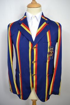 1930's Old King's College Wool Blazer.
