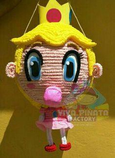 #Piñata #PrincesaPeach  También tenemos pasteles de Cupcakes  no pierdas tiempo buscando a qui tenemos todo