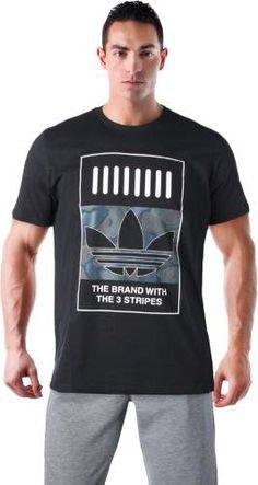 0408a92c adidas Men's 3 Stripe Graphic Tee T-Shirt Adidas Originals Mens, Adidas Men,