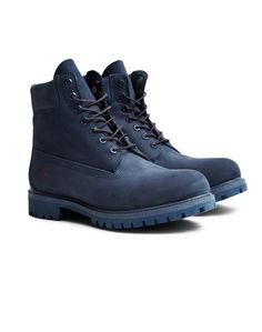 f45ccd4b128 Timberland Icon 6' Premium Boot Blue | Shop men's clothing at The Idle Man