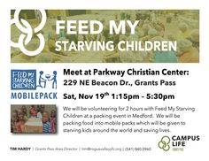 #CampusLife MobilePack Feed My Starving Children Event