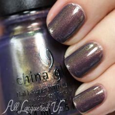 China Glaze Choo Choo Choose You - Fall 2014 via @alllacqueredup