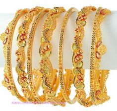 Gold-Bangles-Latest-Designs-Collection-520x495