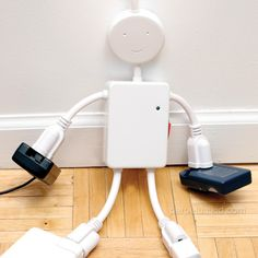 Electro Man Surge Protector: http://www.perpetualkid.com/electro-man-surge-protector.aspx