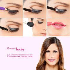 Para um delineado diferente, dê um toque de brilho. Veja como em: http://www.adoromaquiagem.com.br/dicas-maquiagem /novidades-tendencias/olhos-delineados-e-boca-rosa/16639/ #dica #look #olhos rede.natura.net/espaco/luciaconsultoranatura