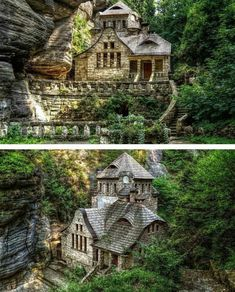 Cliffside House Ideas That Will Bring Out Your Inner Creativ.- Cliffside House Ideas That Will Bring Out Your Inner Creativity Wildly romantic House I - Beautiful Buildings, Beautiful Homes, Beautiful Places, Interesting Buildings, Interesting Photos, Architecture Cool, Computer Architecture, Architecture Definition, Monumental Architecture