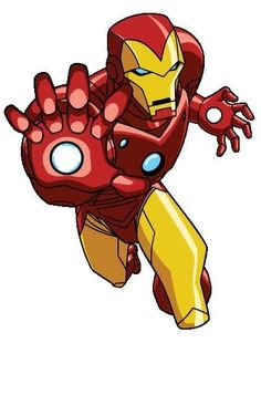 Iron Man from The Avengers: Earth's Mightiest Heroes