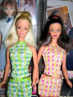 Pretty in Plaid Barbie 1998