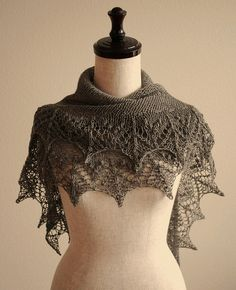 knitted shawls #@Af's Collection