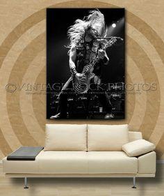 Zakk Wylde Black Label Society 24x36 in Poster Size Photo Print '10 UK Show s5b