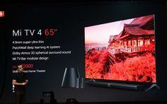 Xiaomi Mi 4 TV - телевизор толщиной 4,9 мм (CES 2017)