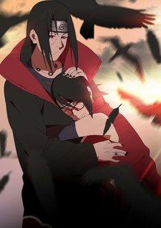 Itachi y sarada uchiha Naruto Uzumaki Shippuden, Sasuke E Itachi, Anime Naruto, Sarada E Boruto, Naruto Cute, Sakura And Sasuke, Manga Anime, Naruhina, Naruto Mignon