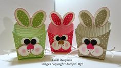 Linda K's Stampin' Page: Stampin' Up! Bunny Fry Box..link to youtube video.
