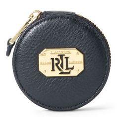 Acadia Pocket Mirror - Lauren Wallets & Small Leather Goods - RalphLauren.com