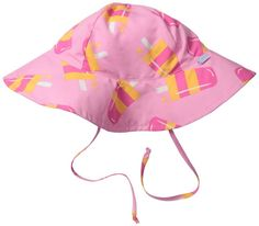 best baby sun hats: the wide brimmed popsicle hat from iPlay