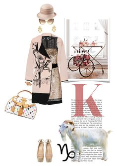 A real goat by pensivepeacock on Polyvore featuring polyvore fashion style D&G Missoni Giuseppe Zanotti Louis Vuitton Asha by ADM Emporio Armani John Lewis Linda Farrow clothing