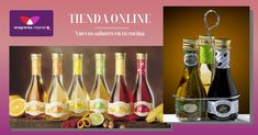 Aromáticos, frutales, de vino, cremas, etiqueta negra… ¡Busca nuevos sabores para tu paladar! Wine, Drinks, Bottle, Food, Shopping, Gourmet, Olive Oil, Wine Bottles, Vinegar