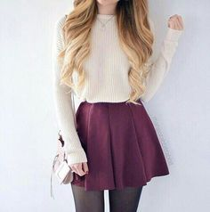 Image de fashion, outfit, and skirt