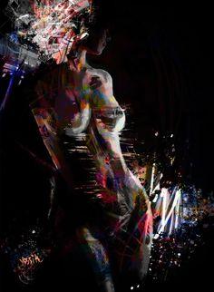 "Saatchi Art Artist yossi kotler; Painting, ""body electric"" #art"