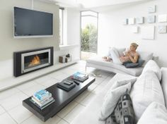6 Fabulous Cool Ideas: Fireplace Candles Tree Stumps concrete fireplace with builtins.Statement Fireplace Wall fireplace design with built ins.Old Slate Fireplace. Living Room Flooring, Living Room Sofa, Living Room Furniture, Living Room Decor, Modern Tv Room, Living Room Modern, Foyers, Home Theater, Wall Mounted Fireplace
