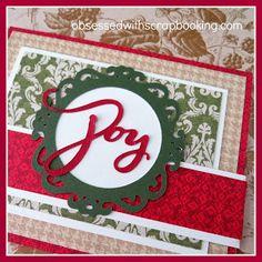 [Video]Artbooking Joy Christmas Cricut Card - Close to My Heart