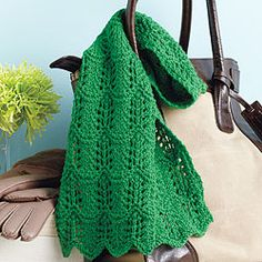 single skein lace scarf - Kate Atherley
