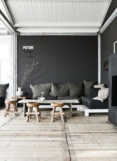 #interior #black #furniture #design