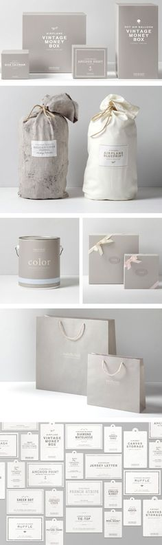 Restoration Hardware Baby & Child. #identity #packaging #branding #marketing PD