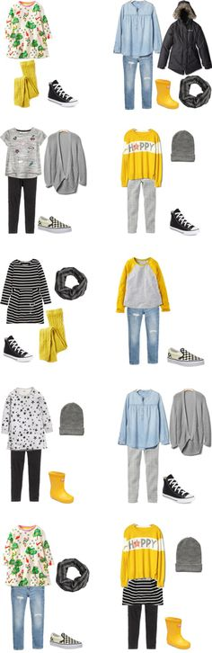 livelovesara - My life in a blog by Sara Watson. Packing list: 10 days in Amsterdam (little girls)- Outfits Options. Fall 2016