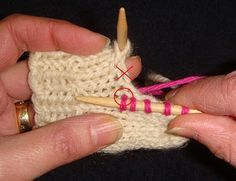 Wise Hilda Knits: On Picking Up Gusset Stitches: Avoiding a Hole. Good idea to try. Crochet Socks, Knit Or Crochet, Knitting Socks, Knitting Stitches, Hand Knitting, Knitting Patterns, Knit Socks, Knitting Help, Tips & Tricks