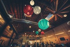 A Day at the Pinterest HQ: Chinese lanterns decorate the skyspace in the upper atmosphere of Pinterest…  - photo from #treyratcliff Trey Ratcliff at http://www.StuckInCustoms.com - all images Creative Commons Noncommercial