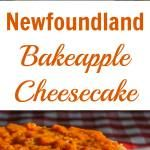 Bakeapple is the Newfoundland word for Cloudberry, a deliciously intense northern berry that makes for an amazing topping on a creamy vanilla cheesecake. Baked Apples, Newfoundland, Berry, Cheesecake, Vanilla, Baking, Desserts, How To Make, Recipes