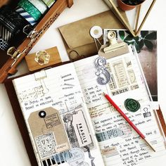this image is an example of how souvenirs/tickets/labels can be used effectively to add texture to a page.