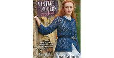دانلود کتاب آموزش قلاب بافی Vintage Modern Crochet