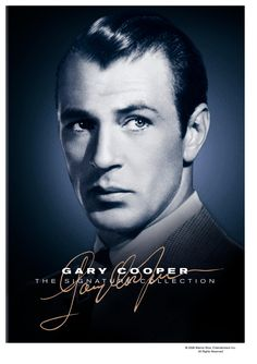 Gary Cooper...one of my fav actors from that era! They don't make them like that anymore!