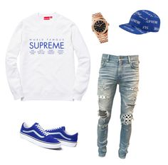 """""""Untitled #565"""" by aintdatjulian on Polyvore featuring Champion, AMIRI, Audemars Piguet, 3M, men's fashion and menswear"""