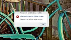 Fix 'The update is not applicable to your computer' error upgrading to Windows Windows 8