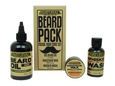 Father's Day Gift Idea: You and your husband are both big fans of his beard, so help him take care of it with this facial hair kit.