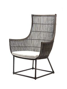 Elata Occasional Chair With Cushion by Modern Outdoor on Guruwan.com | Outdoor furnitureMaterial: Aluminum, polyethylene and cushion