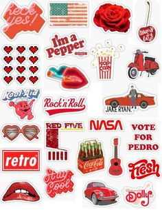 Wallpaper Iphone Aesthetic - Retro Red Stickers - Wildas Wallpaper World Stickers Cool, Wallpaper Stickers, Tumblr Stickers, Phone Stickers, Printable Stickers, Cute Laptop Stickers, Iphone Wallpaper Vsco, Wallpaper Samsung, Laptop Wallpaper
