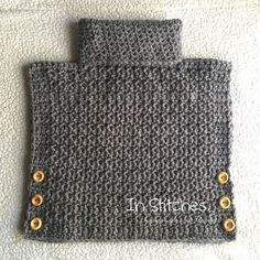This amazing little poncho style pullover can be custom… Crochet Cowl Pullover! This amazing little poncho style pullover can be custom… Diy Tricot Crochet, Filet Crochet, Love Crochet, Crochet Scarves, Beautiful Crochet, Crochet Shawl, Crochet Crafts, Crochet Clothes, Crochet Projects