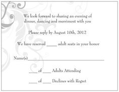 Adult only ceremony and reception