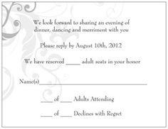 adults only wedding invitation wording | wedding help & tips, Wedding invitations